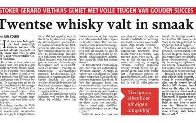 Twentse Whisky bekroond met goud