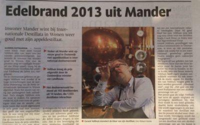 Edelbrand 2013 uit Mander