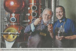 Twentse whisky goud behaald in San Francisco