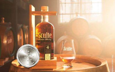 Zilver in San Francisco voor de Sculte Twentse Whisky Batch 4